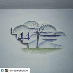 #Repost @ernestoefranco  Gerardo Dottori profilo di una scala e albero stilizzato (primavera) con numero dei gradini rimanenti pittura murale a secco primi anni '40 androne del condominio detto Palazzone Passignano sul Trasimeno #passignano #arteinumbria #trasimeno #instaitalia #umbria #umbriagram #art #arte #murale #italia #italy #gerardodottori #ita_details #n2l #umbrians #trasimenolake #trasimeno #futurismo #futurism #lagotrasimeno #vivoumbria #igersumbria #artsy #artoftheday…