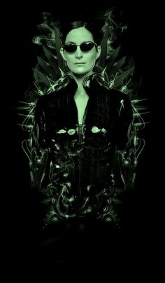 Trinity by on DeviantArt Geek Movies, Series Movies, Keanu Reeves Movies, The Wachowskis, John Wick Movie, Matrix Reloaded, Carrie Anne Moss, Epic Movie, Classic Horror Movies