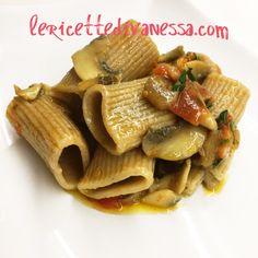 Solo per veri intenditori: Paccheri di solo grano Senatore Cappelli http://www.lericettedivanessa.com/le-ricette/paccheri-di-grano-senatore-cappelli-con-funghi #tuttoilrestoènoia #bio #piubiononsipuo #picoftheday #tagsforlike #marche #destinazionemarche #italia #food #foodblogger #lericettedivanessa #recipe #senatorecappelli