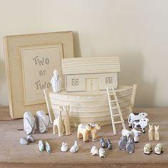Large Noahs's Ark In Gift Box
