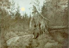 Theodor Kittelsen - Det rusler og tusler rasler og tasler (1900)