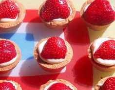 strawberry   mascarpone tarts | strawberry   mascarpone tarts You know what the filling for these tiny, pop-in-your-mouth delights - a simple mixture of mascarpone, condensed milk and vanilla - tasted like to me? The Mr Whippy ice creams of my childhood summers. But without all the thickeners, stabilisers, emulsifiers, and E numbers.You can buy ready-made sweet shortcrust pastry (Jus-Roll []