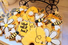 """Photo 1 of 34: What Will It Bee? Baby Shower / Baby Shower/Sip & See """"What Will It Bee? Baby Shower"""" 