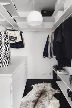 Attic Bedroom Designs, Bedroom Closet Design, Master Bedroom Closet, Room Ideas Bedroom, Closet Designs, Walk In Closet Small, Small Closets, Walk In Closet Inspiration, No Closet Solutions