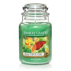 Beautiful Day : Large Jar Candle : Yankee Candle