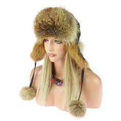Marquez vos amis afin qu'ils puissent le voir. Chapeau de renard roux FOURRURE BONNET EN D' HIVER AVIATEUR: 136,40 EUREnd Date: 07-nov.…