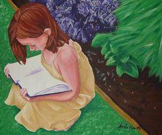Secret Reading Garden  ~Sariea  wow. looks like my Sarah too!