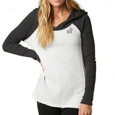 Fox Racing Extensive Women's Ladies Fall Casual Pullover Top Sweatshirt Hoodie