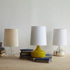 Perch Glass Lamp #westelm