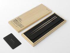 Metaphys - uqu Portable Titanium Chopsticks