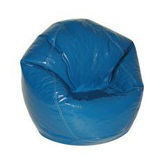 Wetlook Bean Bag Chair Color: Nautical Blue - http://delanico.com/bean-bag-chairs/wetlook-bean-bag-chair-color-nautical-blue-589287602/