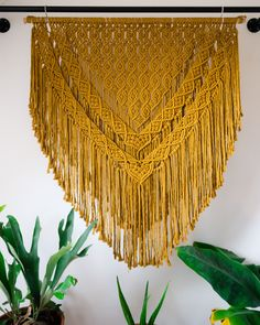 This Bohemian Macrame Wall Hanging is meticulously hand knotted in our home studio. It is made with gorgeous soft string rope. Large Macrame Wall Hanging, Tapestry Wall Hanging, Wall Hangings, Bohemian Tapestry, Boho, Macrame Projects, Fun Projects, Bohemian Pattern, Macrame Patterns