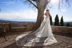 The 2015 Tarik Ediz White wedding dress collection is hot! Sexy Wedding Dresses, Wedding Gowns, Wedding Bride, Bridal Collection, Dress Collection, Chiffon, Wedding Cape, Cinderella Wedding, Bridal Suite