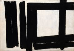 Franz Kline, Painting No. 7, 1952. Oil on canvas, 57 1/2 x 81 3/4 inches (146 x 207.6 cm)