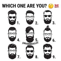 """3,652 Likes, 510 Comments - Beardmuscles™ (@beardmuscles) on Instagram: """"Or which one is the best style? 🤔👇 #Beardmuscles"""""""