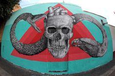 Fusion of Street art and Wild Life by Alexis Diaz's.|CutPaste Studio| Art, Artist, Artwork, Illustrations, Entertainment, beautiful,creativity, Street art, murals, Graffiti art.