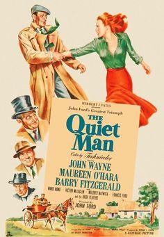 Love Maureen O'Hara and John Wayne together!