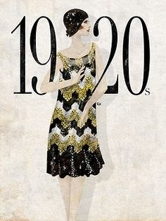 Dresses worn by flappers were often shorter and freer than tradition, to allow enough freedom for the popular dances at the time 1920 Style, Style Année 20, Gatsby Style, Jay Gatsby, Style Blog, 20s Fashion, Fashion History, Art Deco Fashion, Fashion Dresses
