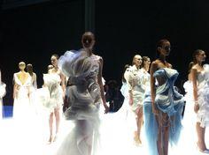 Lan Yu finale at the Fashion Week Paris 2014