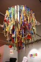 At an EBay event in 2009, the centerpiece of the room was a giant chandelier that comprised more than 1,200 items found on the online auctioneer's Web site.
