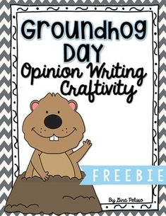 Groundhog Day is almost here! Use this cute craftivity to help your students share their opinions about the groundhog seeing his shadow. With 6 recording sheet options, a craftivity, AND a class graph, this freebie is sure to be a class favorite!