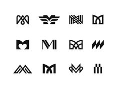 M / Episode 4 designed by Kakha Kakhadzen. Connect with them on Dribbble; Typo Logo Design, Best Logo Design, Typography Logo, Logo Branding, Branding Design, Lettering, Typographic Design, Business Logo, Business Card Design
