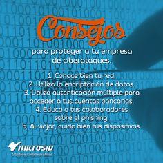 #TipsMicrosip 5 consejos para proteger a tu empresa de ciberataques