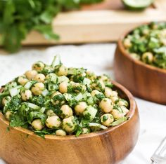 Coriander & Chickpea Salad – Kayla Itsines