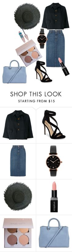 """""""Untitled #327"""" by criiss-prdd on Polyvore featuring Comme des Garçons, Imagine by Vince Camuto, AlexaChung, Emporio Armani, Smashbox, Maybelline and MICHAEL Michael Kors"""