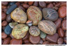 rock collecting of lake michigan | Lake Superior Stones, Keweenaw Peninsula, Eagle River, Michigan