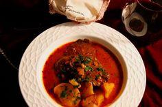 Spanish Marinated Portobello Mushroom & Potato Stew from The Vegetarian Flavor Bible