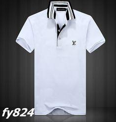 polo ralph lauren cheap Louis Vuitton Collar Strip Short Sleeve Men's Polo Shirt White Black http://www.poloshirtoutlet.us/