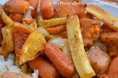 A Cozy Place Called Home: Roasted Root Vegetables (Gluten Free)