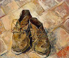 Vincent van Gogh Shoes 1888