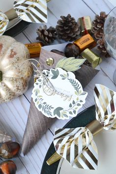 Thanksgiving Cornucopia Centerpiece featuring the DIY Party Board by Aly Dosdall for We R Memory Keepers Thanksgiving Table Centerpieces, Holiday Centerpieces, Centerpiece Decorations, Thanksgiving Cornucopia, Thanksgiving Projects, Diy Party Board, Rustic Candles, Faux Pumpkins, Elegant Centerpieces