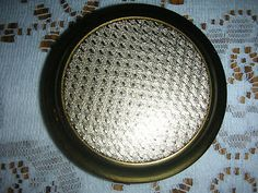 Find Vintage Mascot Powder Compact - Gold Tone Textured Design Top Circular Bottom on eBay Global Buying, with worldwide deals on items in all your top categories