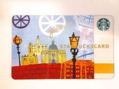 STARBUCKS COFFEE JAPAN CARD YOKOHAMA CITY SERIES GIFT CARD 2011 SHIPS FROM USA! #StarbucksCoffee