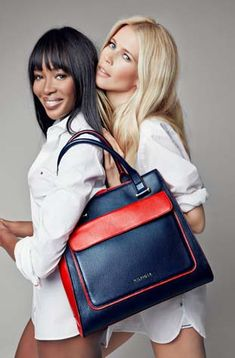 Naomi Campbell & Claudia Schiffer pour Tommy Hilfinger et Breast Health International | Timodelle Magazine