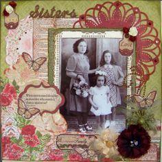 chivascrap  scrapbooking: l'art de mettre en valeur ces photos dans des albums.