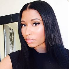 Nicki Minaj Natural Look | Natural Barbie! Nicki Explains Her Decision to Embrace 'Natural ...