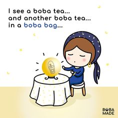 Boba Smoothie, Bubble Boba, Drink Quotes, Bubble Milk Tea, Fb Page, Crystal Ball, Bubbles, Lol, Funny