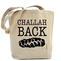Challah Back  - Canvas Tote Bag - Classic Shopper