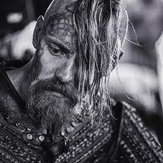 Jasper Pääkkönen as Halfdan the Black | Vikings TV show