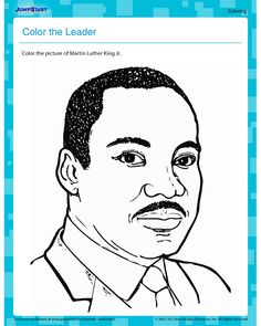 martin luther king jr free coloring pages printable coloring pages