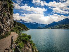 Hiking along Walensee - Lost Swiss Miss