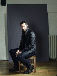 Richard Armitage photographed at The Old Vic for The Sunday Telegraph, June 2014.