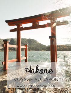 Voyage au Japon: 2 jours à Hakone. Récit, photos & bonnes adresses! Un tour en bateau sur le lac Ashi, direction Hakone-machi pour admirer le Fuji-san.