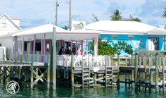 Captain Jack's Bar and Grill is always a hopping place in Hope Town. #Bahamas #Caribbean #Travel
