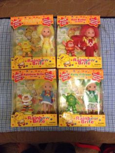 Rainbow Brite and Patty Butler Canary with Sprites Lights 2003 with DVD | eBay