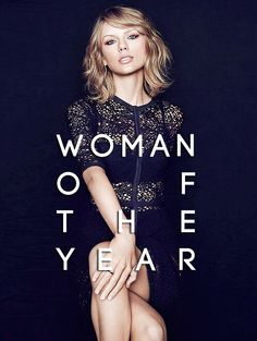 Taylor Swift for Billboard Magazine's 'Woman of the Year' 2014
